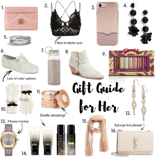 Gift Guide for Her - The Ultimate Gift Guide for Her by popular Orange County blogger Maxie Elle