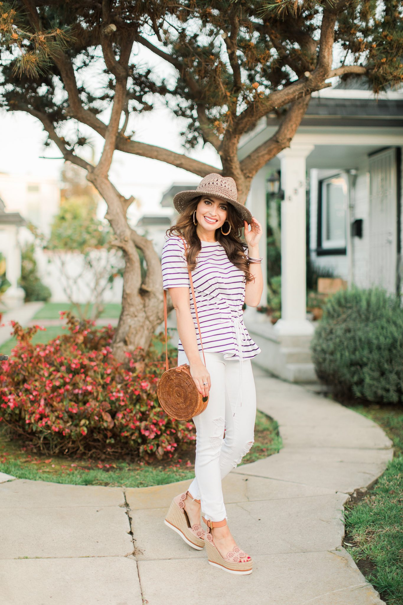 Spring Trend: Corset Clothing featured by popular Orange County fashion blogger Maxie Elle