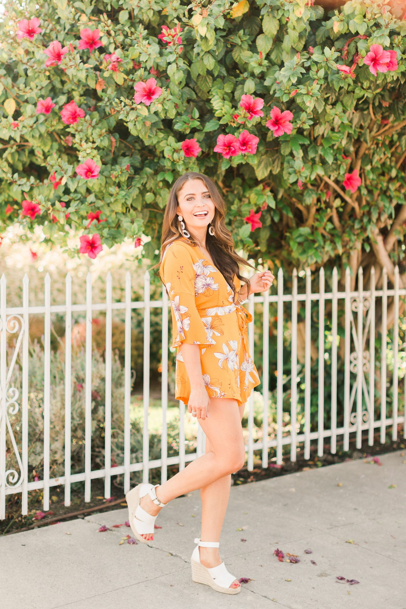 Life Update & The Cutest Chicwish Romper styled by popular Orange County style blogger, Maxie Elle