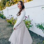 How to Style a Layered Tulle Skirt for Winter
