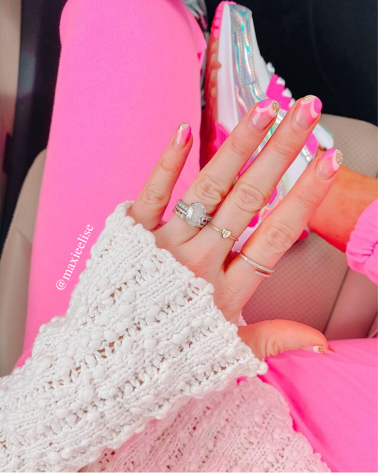maxie Elise; fashion and lifestyle blog; 2021 nail trends; 2021 nail inspo; manicure trends; manicure inspo; summer nails; spring nails; easter nails;