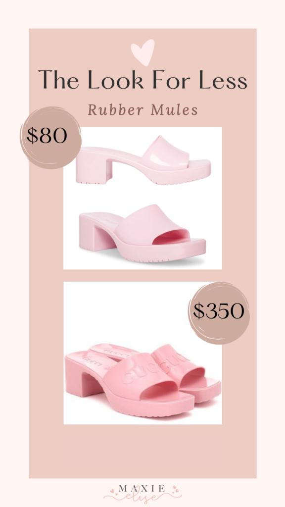 Maxie Elise; lifestyle fashion beauty blog; designer dupes; makeup dupes; Anastasia brow freeze; amazon jewelry; Gucci sandal dupe; Prada sandal dupe