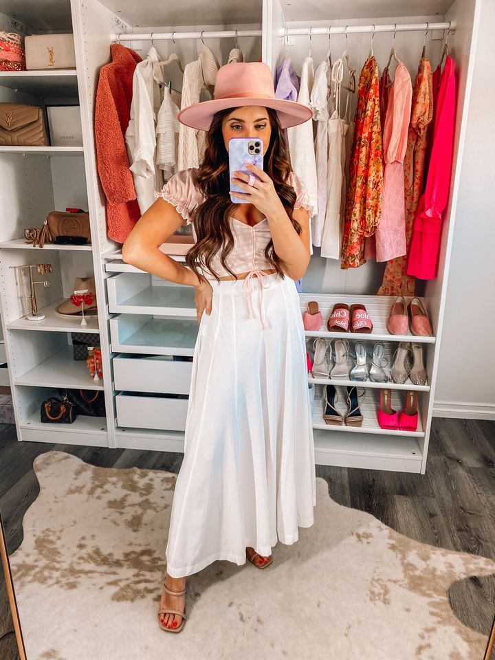 2021 spring fashion trends; spring outfits; what to wear in the spring; petal and pup spring collection; petal and pup clothing haul; Maxie Elise