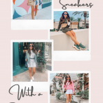 4 Fashionable Ways to Wear Sneakers With a Dress or Skirt