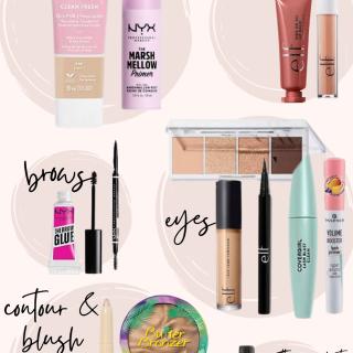 the best drugstore makeup of 2021; target makeup; drugstore makeup; affordable makeup; Maxie Elise